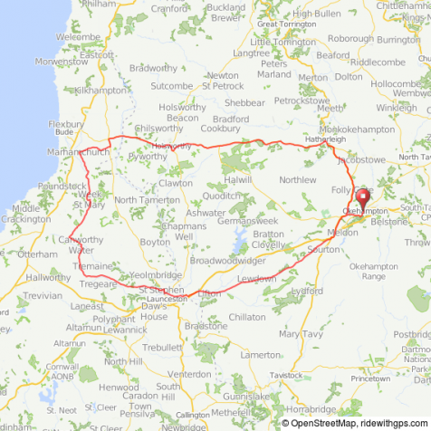 Martello 110 kms route